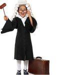 Disfraz casero de juez