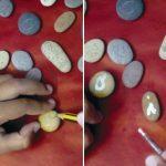 Manualidades infantiles: un abecedario con piedras de la playa