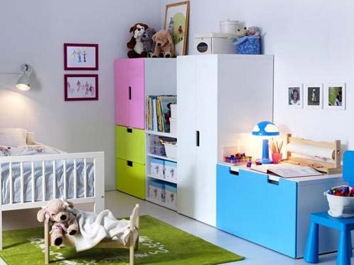 Kinderbett Mit Gästebett Ikea ~ Mirad que bonitas composiciones podéis conseguir en la habitación