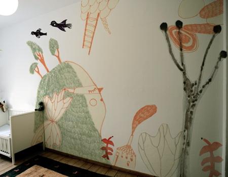 Inspiración murales infantiles