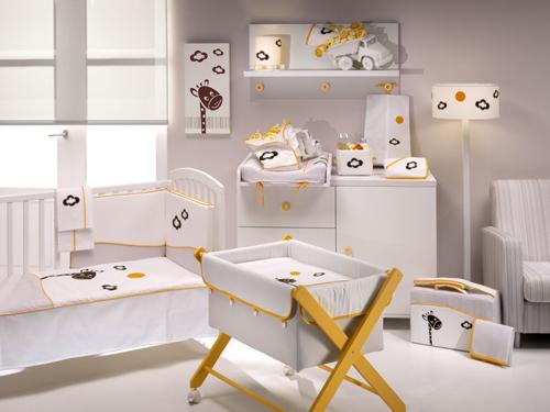 Textiles para habitaciones de beb s decoideas net - Ver habitaciones de ninos ...