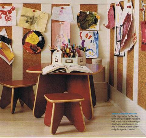 Corchos infantiles originales decoideas net - Corcho decorativo paredes ...