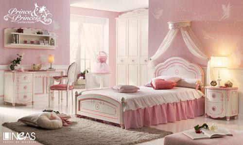 Habitaciones cl sicas de princesas - Habitaciones juveniles clasicas ...