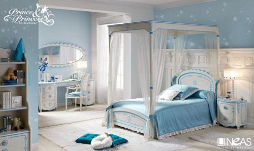 Habitaciones cl sicas de princesas decoideas net - Los mejores dormitorios juveniles ...