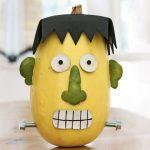 Manualidades Halloween: calabaza Frankenstein