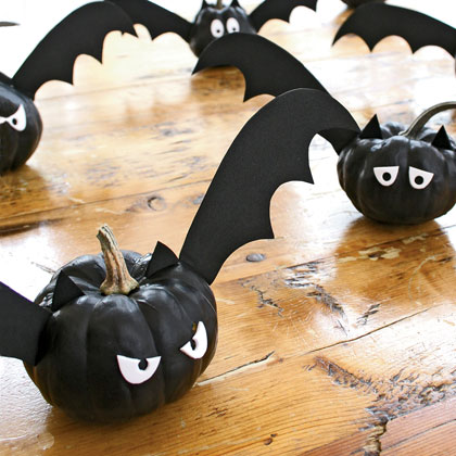 M s ideas para decorar calabazas en halloween - Fensterbilder halloween ...