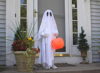 Disfraces caseros de fantasma