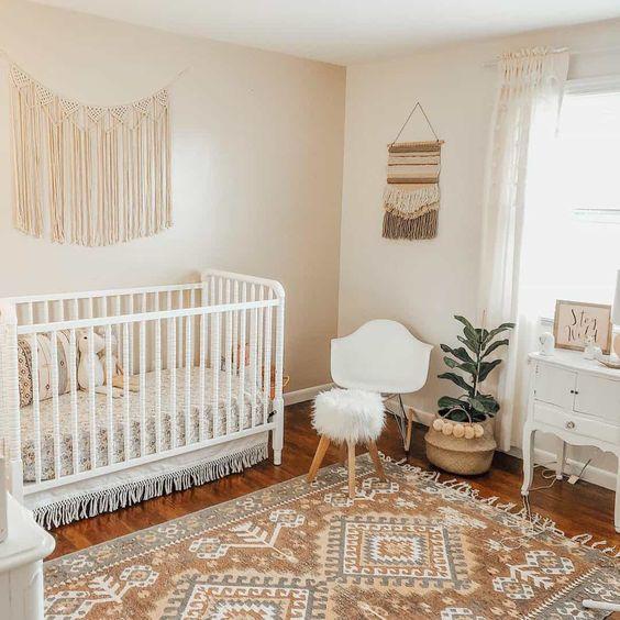 Dormitorio bebé beige ventajas e inconvenientes