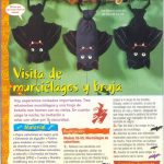 Manualidades Halloween: como hacer murciélagos con calcetines
