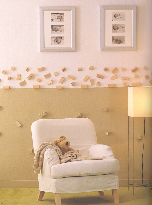 Decoraci n pared infantil decoideas net - Decoracion paredes habitacion infantil ...