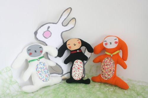 Regalos bebés: peluches originales