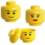 Cabeza de Lego para las habitaciones infantiles