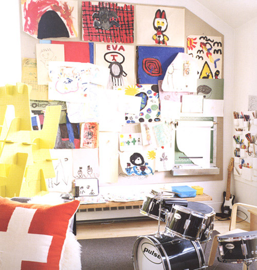 M s ideas para exponer los dibujos de los ni os - Dibujos para paredes infantiles ...