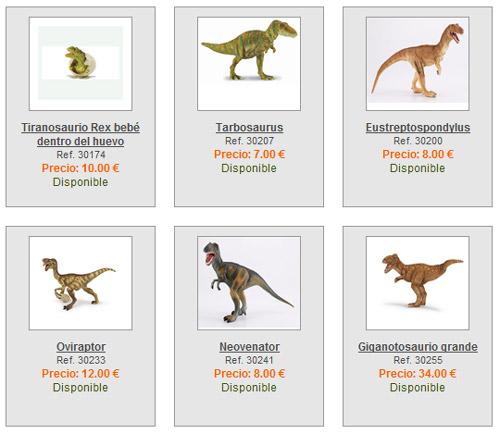 Tienda online Todo Donosaurios