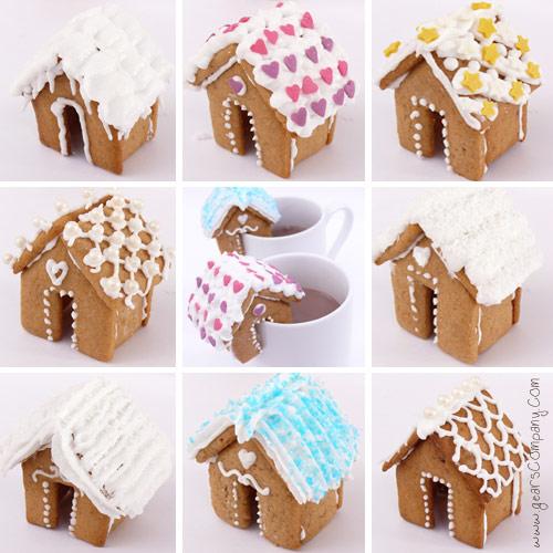 Como hacer galletas con forma de casita