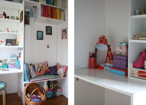Inspiraci n habitaciones infantiles compartidas - Habitaciones infantiles compartidas pequenas ...