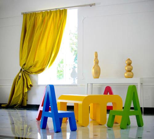 Muebles infantiles: Letters de Alessandro Diprisco