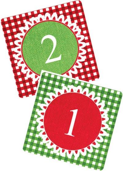 Calendario de adviento para imprimir for Calendario de adviento casero