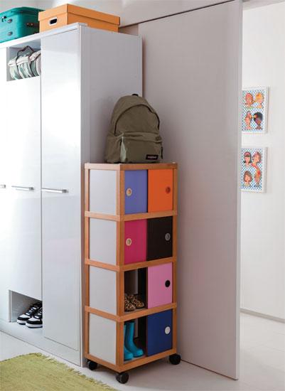 Habitaci n infantil para dos ni o y ni a for Zapatero para habitacion