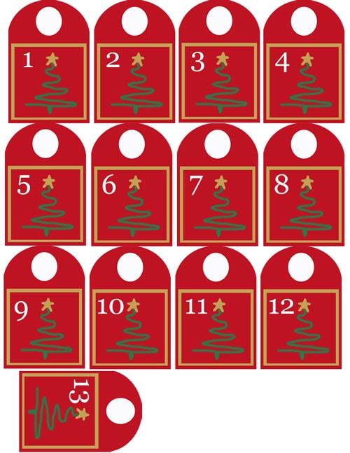 Calendario de adviento para imprimir for Calendario adviento ninos