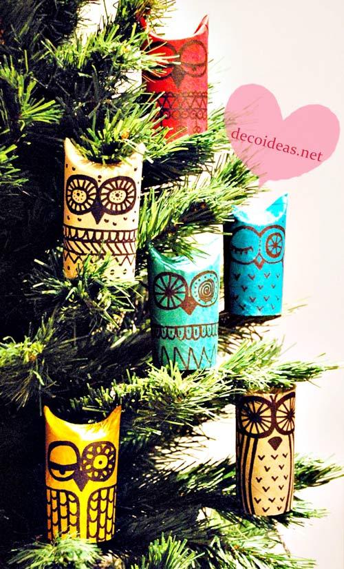 Manualidades para decorar el rbol de Navidad