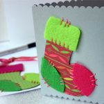 Más modelos de tarjetas de navidad hechas a mano