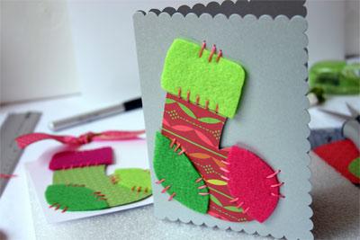 M s modelos de tarjetas de navidad hechas a mano - Postales de navidad hechas por ninos ...