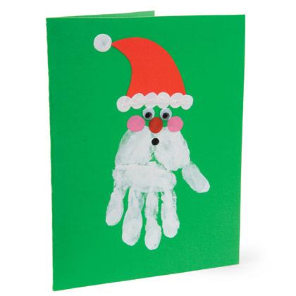 Tarjetas de navidad infantiles for Tarjetas de navidad hechas por ninos