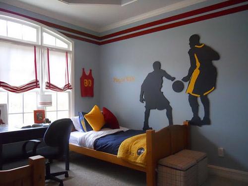 Baloncesto, habitaciones juveniles