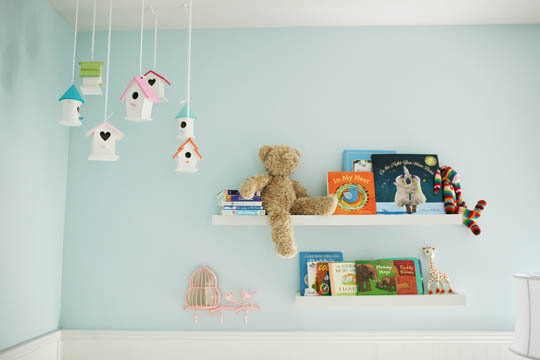 Ideas decoraci n beb s casitas de pajaritos - Ideas decoracion habitacion infantil ...