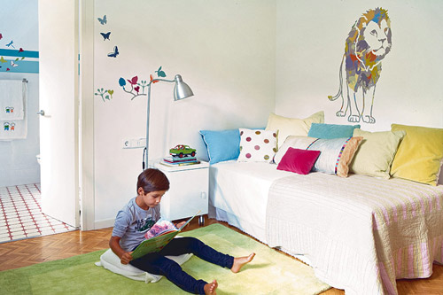 Habitaci n infantil con ba o decoraci n infantil - Decoracion cuarto infantil nina ...