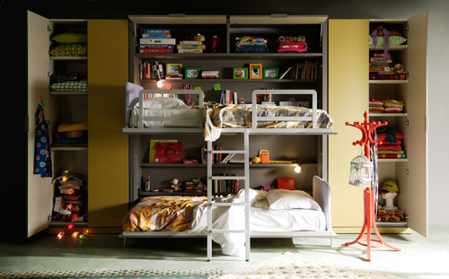 Literas infantiles for Habitacion infantil dos camas
