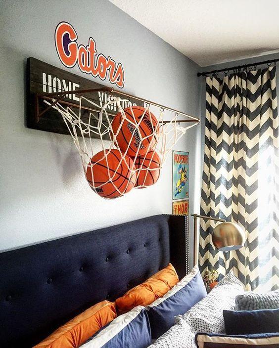 Baloncesto Habitaciones Juveniles Decoraci 243 N Infantil