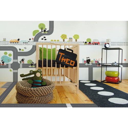 Decorar las habitaciones infantiles con lilipinso for Vinilos pared entera