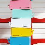 Caja de pañuelos con forma de ballena