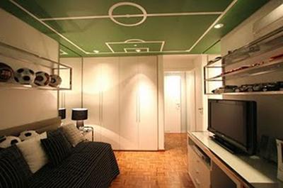Habitaciones tem ticas f tbol - Habitaciones tematicas para ninos ...
