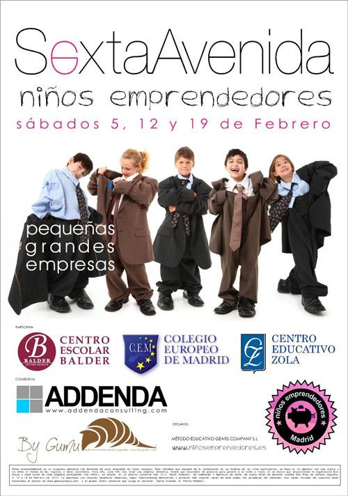 Niños Emprendedores 2011 Madrid