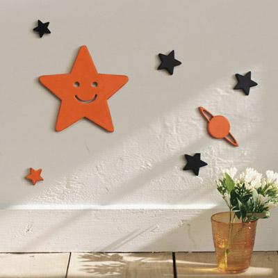 decorar las paredes con pegatinas 3d