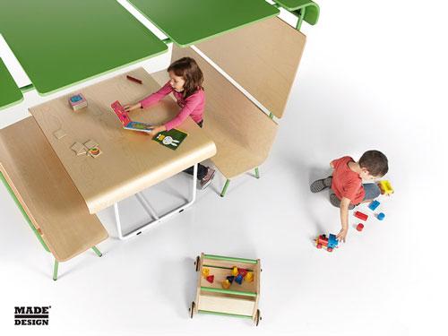 Espacio de juego para niños