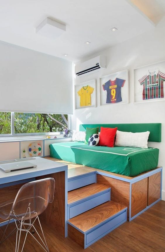 Fotos de habitaciones temáticas Fútbol