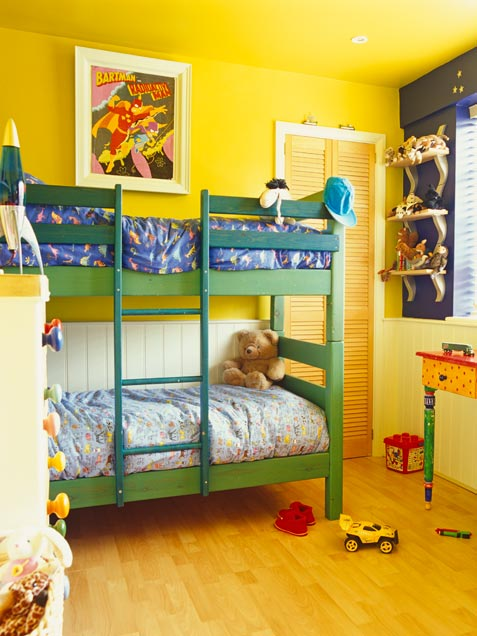 Habitaciones infantiles con literas ideas para decorar for Ideas para decorar camas