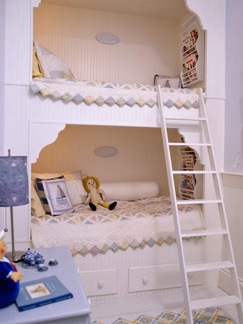 Habitaciones infantiles con literas ideas para decorar - Letras decorativas para habitaciones infantiles ...