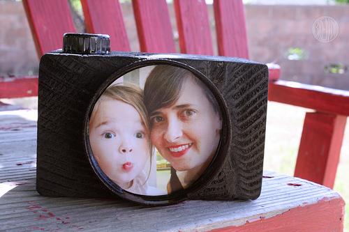 Regalos para el Día del Padre: marco de fotos