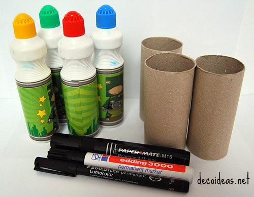 Manualidades infantiles con material reciclado for Manualidades decoracion infantil