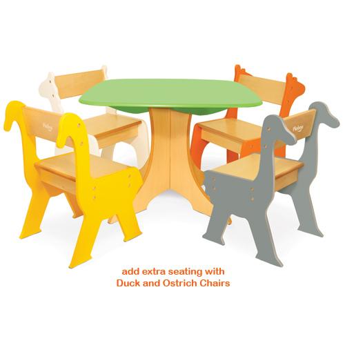 Conjunto mesa y sillas infantiles for Silla para coche nino 4 anos