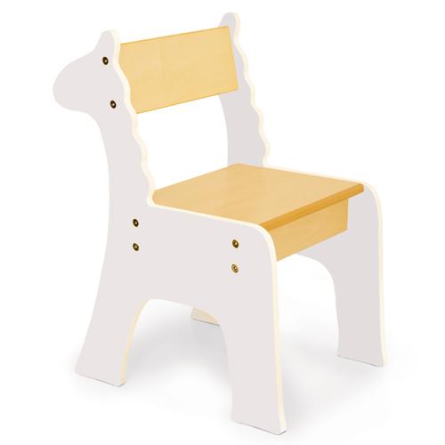 Conjunto mesa y sillas infantiles for Silla infantil madera