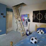 Habitaciones temáticas: decoración fútbol