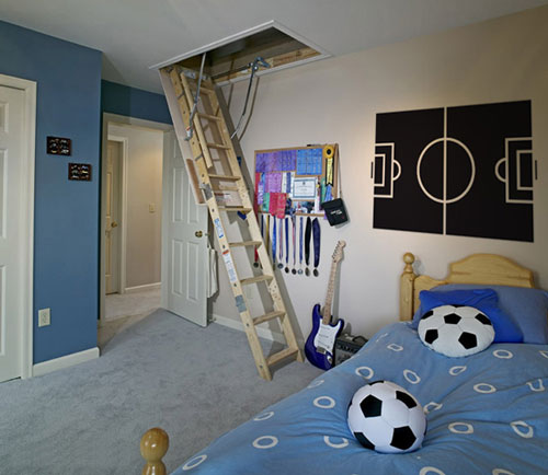Decoracion Juvenil Ni?o ~ Habitaciones tem?ticas decoraci?n f?tbol  Decoideas Net