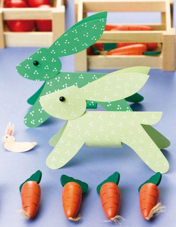 Imprimible Pascua conejos