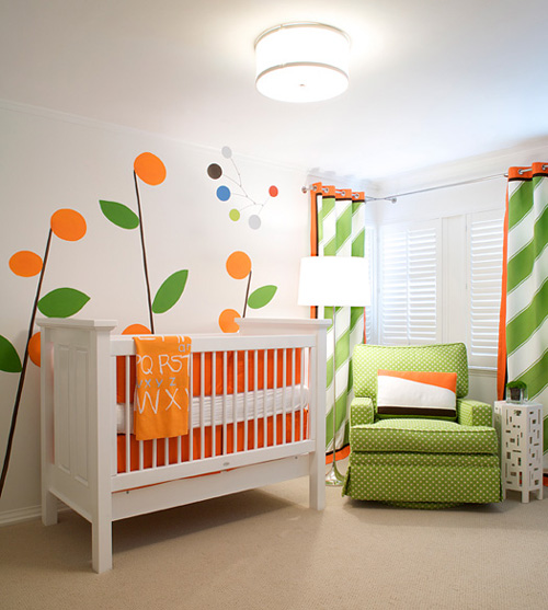 Ideas decoraci n bebes - Decoracion habitacion bebes paredes ...